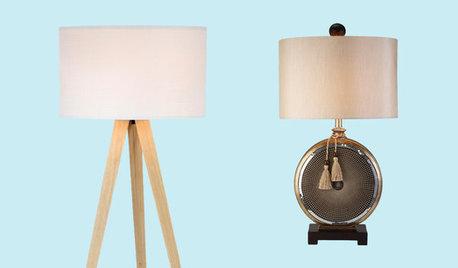 Last Week's Bestselling Table and Floor Lamps