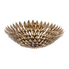 Crystorama Broche 6 Light Gold Sconce