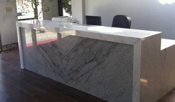 Stone Connection reception desk