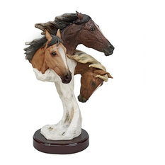 Racing the Wind Wild Horse Grand Size Statue