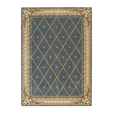 "Ashton House Rug, Blue, 7'9""x10'10"""