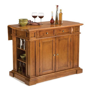 Home Styles The Orleans Kitchen Island Industrial Kitchen Islands And Kitchen Carts By Home Styles Furniture