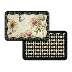 """""""French Bouquet"""" Reversible Placemats, Set of 6"""