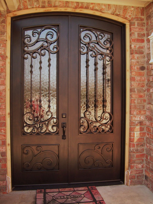 Wrought Iron Exterior Entry Doors