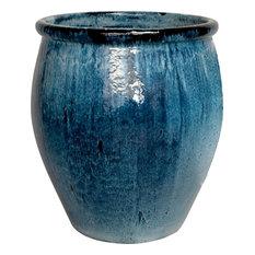 Lip Planter - Quin Blue, Large