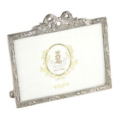 Royal Family Silver Picture Frame, 12x14 cm