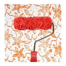 Embossed Paint Roller Wall Painting Runner Wall Decor DIY tool, Pattern 27