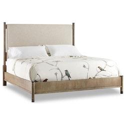 Transitional Platform Beds by Unlimited Furniture Group