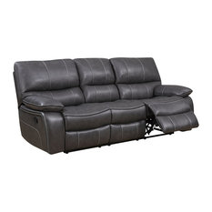 Global Furniture USA   Reclining Sofa, Gray   Sofas