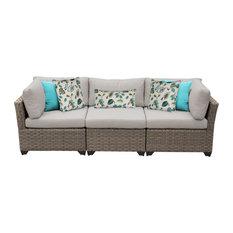 Monterey 3 Piece Outdoor Wicker Patio Furniture Set 03b