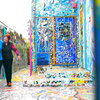 Houzz TV: First Comes Love, Then Comes a Wildly Colorful Mosaic Home