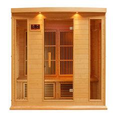 Maxxus 4 Person Low EMF Far Infrared Carbon Heater Sauna