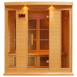 Transitional Saunas by Dynamic Saunas