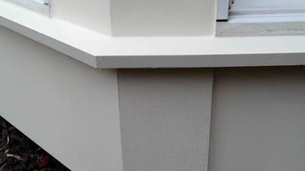 Detail of trim using 5/4 trim & 3/8 for field