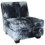 John Proffitt Home - Modern Cowhide Lounge Chair - Product Note: There will be variations in the print as it is natural cow hide. Colors + Hides will vary!
