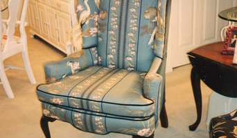 Traditional Queen Anne Wing Chair