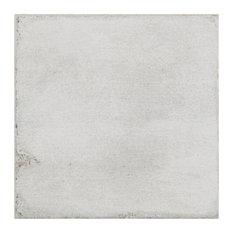 "SomerTile 5.75"" x 5.75"" Barcelona Decor Floor and Wall Tile, Case of 44, White"