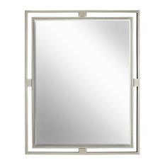 Kichler   Kichler Hendrik Mirror In Brushed Nickel   Bathroom Mirrors