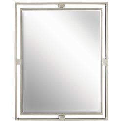 Perfect Transitional Bathroom Mirrors by Whitmer us Lighting