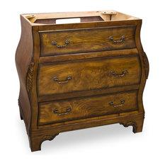 Hardware Resources VAN009 Wood Vanity, Without Top