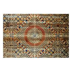 """""""Kortoba"""" Print on Wood by Parvez Taj, 45x30 cm"""