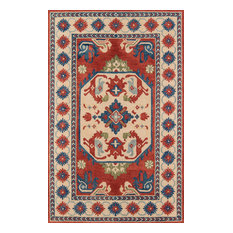 Tangier Hand-Hooked Rug, Ivory, 5'x8'