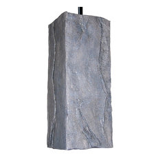 Stone Pendant Brown, Gray