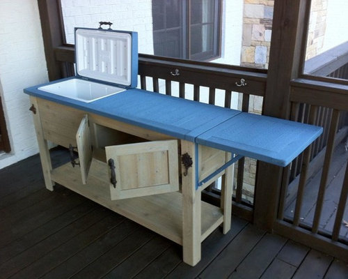 Barn Wood Coolers, Bar Carts, Cooler Cabinets