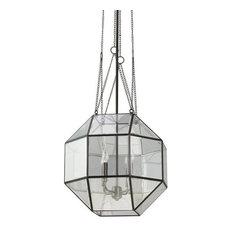"Sea Gull Lighting 6534404 Lazlo 4 Light 18.25"" Wide Pendant Clear Beveled Glass"