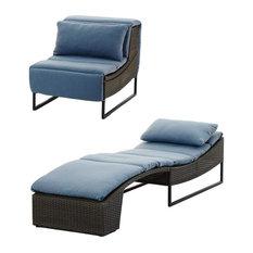 Shell Outdoor Garden Lounge Chair