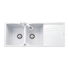 Telmagranit Naiky Kitchen Sink, 116 cm