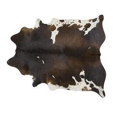 Pergamino   Pergamino Chocolate U0026 White Cowhide Rug, Large   Novelty Rugs