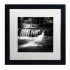 'Cascade' Matted Framed Canvas Art by Dave MacVicar