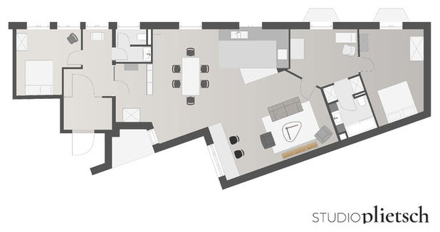 Floor Plan by Studio Plietsch