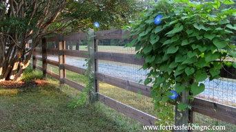 estate rail fence