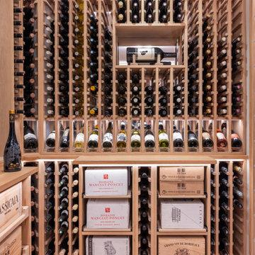 White American Oak Wine Cellar
