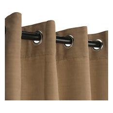 RoomDividersNow   Muslin Tension Rod Room Divider Kit, Khaki, Small A   8u0027