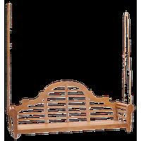 Teak Wood Lutyens Double Porch Swing