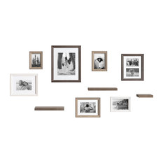 Bordeaux Gallery Wall Frame And Shelf Kit, Multi