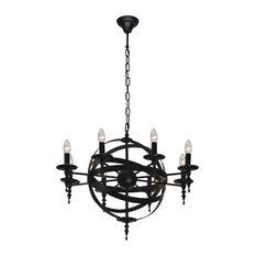 Cage 8-Bulb Pendant Light