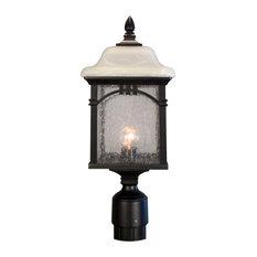 Sonoma Medium Post Mount Light, Black
