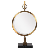 Uttermost Nori Bronze Tabletop Mirror