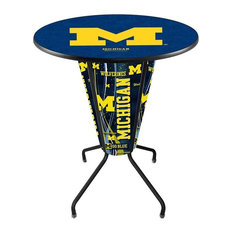 Lighted Michigan Pub Table by Holland Bar Stool Company