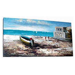 "Oil Painting""xThe Sea 24""x12"""