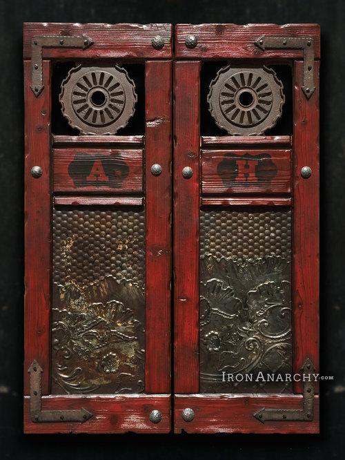Custom Swinging Saloon Doors - Game Room And Bar Decor - Custom Swinging Saloon Doors