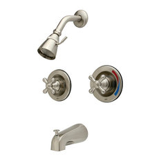 Kingston Brass KB66.AX Vintage Tub and Shower Trim with Single Function Shower