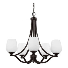 F2960/5 Vintner 5-Light Chandelier, Heritage Bronze