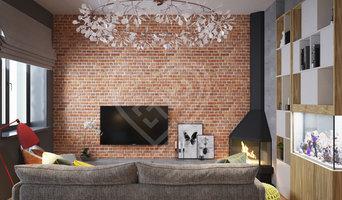 Дизайн интерьера коттеджа в стиле Лофт в Москве