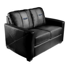 New Orleans Pelicans NBA Silver Love Seat