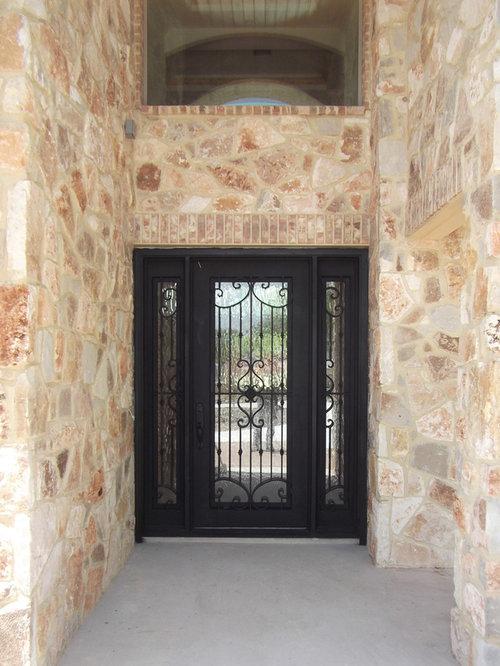 Mediterranean Wrought Iron Door With Sidelights - Front Doors & Durango Doors Monterrey u0026 ... Durango-acc-final-046.jpg ... pezcame.com